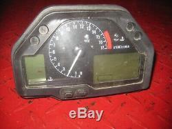 03-04 HONDA CBR600RR CBR 600 RR 600RR Speedo Speedometer Gauge Cluster tach 10K