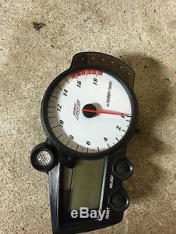 03-09 Yamaha Yzf R6 S Gauge Cluster Spedometer Tachometer Tach Speedo Gauges Oem