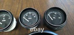 03 Harley Touring Softail Dyna Guages Speedo Tech Fuel Volt Air Oil 67033-99 Set