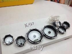 04-13Harley Touring Speedometer Tachometer Oil Volt Fuel Air Tach Speedo Gauges