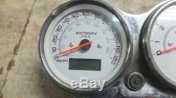 05 Polaris Victory Vegas Arlen Ness Gauges Meters Speedometer Speedo Tachometer