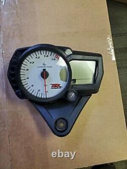 06-07 Suzuki GSXR 600 GSXR600 Cluster Gauge Speedometer Speedo Tach 11k