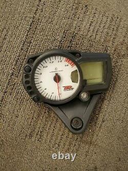 06-07 Suzuki GSXR 750 GSXR750 Cluster Gauge Speedometer Speedo Tach 25k