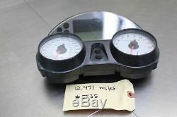 06-11 Ninja ZX14 ZX14R Gauges Speedo Tach Cluster Speedometer 12K Miles