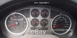 06 Ford F-150 FX4 Instrument Gauge Cluster Speedometer Tachometer PICK MILES