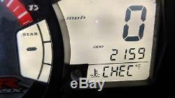 07-08 Suzuki GSXR 1000 gauge cluster speedo clocks GSX-R low miles 2007 2008
