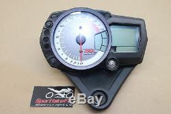 08-09 Suzuki Gsxr 600 Gsx-r Speed Tach Gauges Cluster Speedometer Speedo 11k Gsx