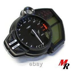 09-14 Yamaha YZF-R1 Cluster w 13k Miles 2010 YZF R1 Gauges Speedo Tach Meter