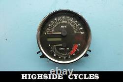 1003 02 Harley-davidson Road King Speedometer Speedo Gauge Gauges Odo 50266