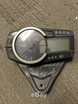 11-19 Suzuki GSXR 600 GSXR600 Cluster Gauge Speedometer Speedo Tach DAMAGED