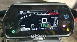 15-19 Yamaha Yzf R1 Speedo Tach Gauges Display Cluster Speedometer Gauge Yzf-r1