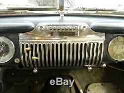 1942-1947 Cadillac Tachometer/Speedometer KM/H-Skala, komplette Verwertung des Fz