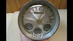 1949 1950 Nash Bullet Uniscope Speedometer Gauge Trog Scta Rat Rod Speedo Truck