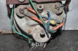 1950-1953 MG TD Midget Dash Tachometer Gauge Jaeger X65021/4 Bench Tested OEM