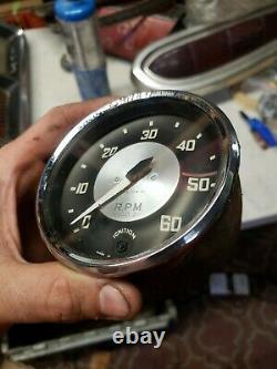 1955-56 Austin Healey 100-4 Smiths Tachometer & speedometer gauges speedo tach i