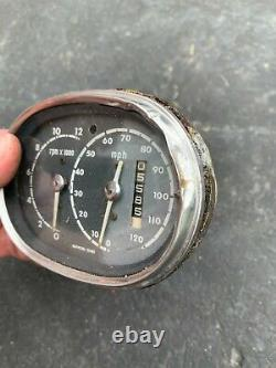1965 65 Honda CB77E Superhawk 305 CB 77 Speedometer Speedo Tach 5600 Miles