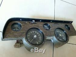 1967 1968 Mercury Cougar XR7 GAUGE CLUSTER Speedometer TACHOMETER Original
