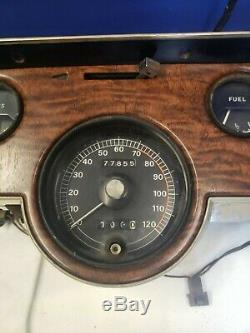 1967 1968 Mercury Cougar XR7 GAUGE CLUSTER with Speedometer TACHOMETER Original 13