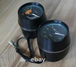1972-73 kawasaki s1 s2 instrument cluster gauge speedometer tachometer speedo 72