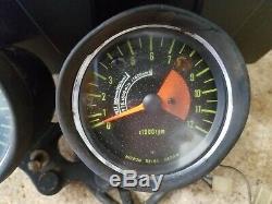 1972 Kawasaki H2 750 h 2 triple mach gauges speedometer tach speedo original Set