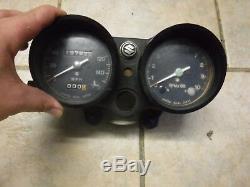 1972 Suzuki GT550 GT 550 Speedometer Speedo Tach Gauge Cluster Meter