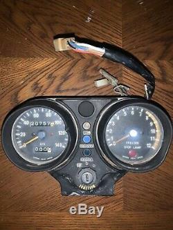 1974 1975 Kawasaki H2 750 Gauge Cluster Tachometer Speedometer Speedo Tach H1