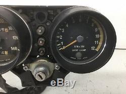 1975 Kawasaki H2 750 Gauge Cluster Tachometer Speedometer Speedo Tach H1