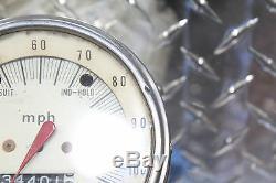 1979 Kawasaki Kz1000c Police Speedometer Gauge Speedo Tach Display 34,401 Miles