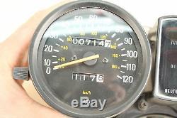 1979 YAMAHA XS400 XS400F Speedometer and Tachometer / Speedo Gauges 714 Miles