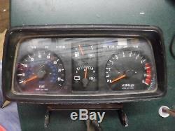 1981 81 Vintage Kawasaki GPZ 1100 Speedo Speedometer Gauge Cluster Tach SP849