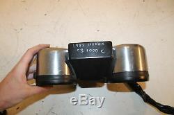 1983 83 Honda Cb1000c Cb 1000 Custom Speedo Tach Gauges Cluster Speedometer