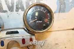 1985 85 Yamaha Xv1000 Virago 1000 Speedo Tach Gauges Cluster Speedometer