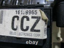 1994 Blazer Speedometer Cluster Guage Instrument Odometer Digital Display
