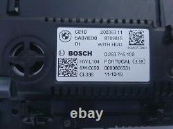 19-21 BMW 3 G20 5 G30 X3 G01 INSTRUMENT CLUSTER LIVE COCKPIT withHUD 12.3 high