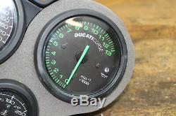 2000 Ducati 748 916 996 Biposto SPEEDO TACH GAUGES DISPLAY CLUSTER SPEEDOMETER