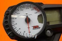 2006 2007 Suzuki Gsxr600 Oem Speedo Tach Gauges Display Cluster Speedometer 8k