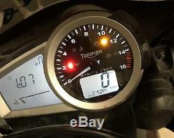 2006-2017 Triumph Daytona 675 Speedo Tach Gauges Display Cluster Speedometer 15k