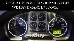 2008 Ford F-150 5.4 FX2 FX4 speedometer instrument gauge cluster PICK MILEAGE