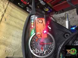 2011 Suzuki Gsxr1000 Speedo Tach Gauges Display Cluster Speedometer T150