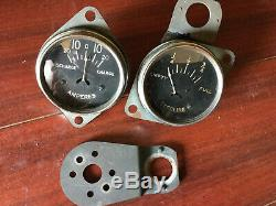 32 33 34 Ford Auburn Vintage Dash Instrument Gauge Amp & Gas Tested And Working