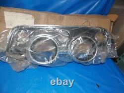 67 68 NOS Ford Mustang Instrument Gauge Bezel Camera Case C8ZZ-10838-A