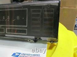 79 Cutlass Speedometer Cluster Guage Instrument Odometer Analog Dash Display