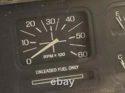 80-86 Ford Truck Bronco Instrument Cluster Tach Speedo Head F100 F150 F250 F350