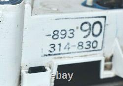 86-88 Toyota Pickup Truck 4Runner sr5 Turbo Gauge Cluster Speedometer 169k OEM