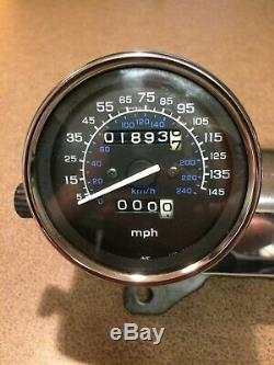 94-03 Honda Vf750 Magna 750 Gauges Cluster Speedometer Speedo Tach 1893 Miles