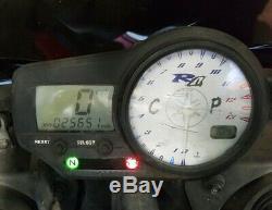 98-01 Yamaha Yzf R1 Speedo 25k Tach Gauges Display Cluster Speedometer 98 99 01