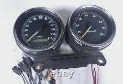 98 Harley Dyna Super Glide FXD Speedometer Speedo Tach Tachometer Gauge