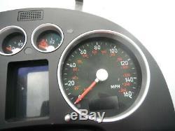AUDI TT 8n mk1 SPEEDO DASH CLOCKS INSTRUMENT CLUSTER 225 BHP 8N2920930C 130K