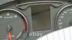 Audi RS3 8V Facelift Tacho Kombiinstrument MFA ACC FIS cluster 8V0920871 L