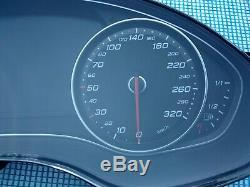 Audi Rs6 13-18 Oem Instrument Dash Cluster Speedometer Gauges Petrol